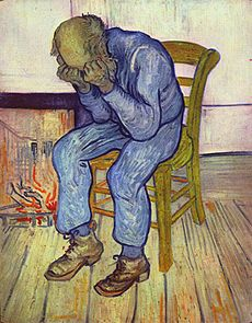 """On the Threshold of Eternity"". Vincent van Gogh"