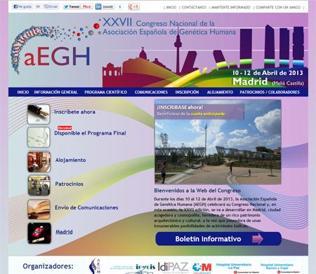 Comienza en Madrid el XXVII Congreso Nacional de Genética Humana