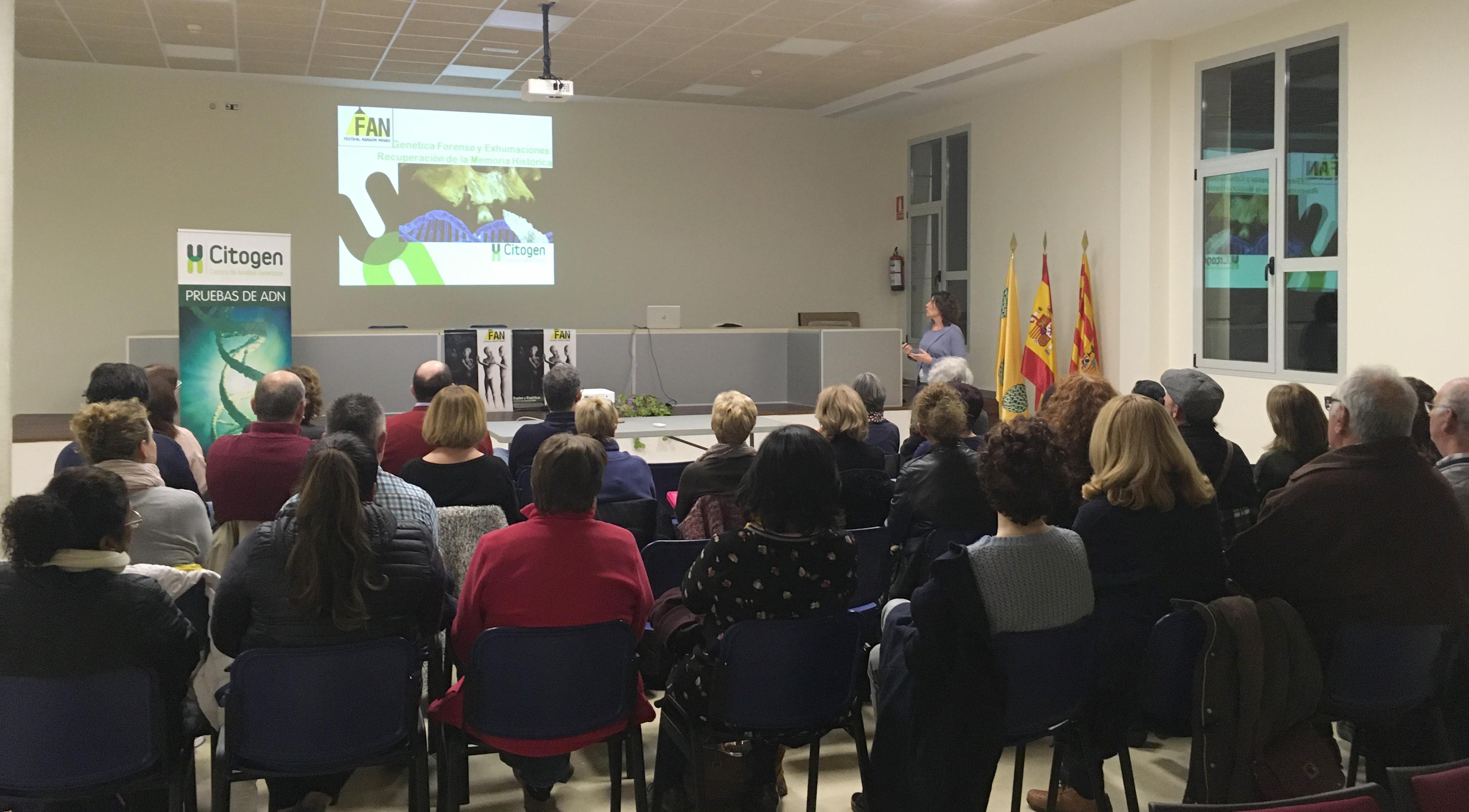 Charlas sobre exhumaciones en Calamocha y Pina